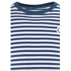 Edelrid Kamikaze II - Camiseta de manga larga Hombre - azul/blanco